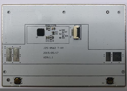 单触摸板方案JZS-9562 T-HY