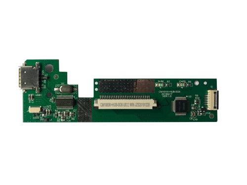 江苏CM101K+HUB-SG6 USB芯片 带HUB拓展键盘板