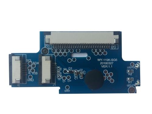 WY-119K-SG6芯片 键盘板
