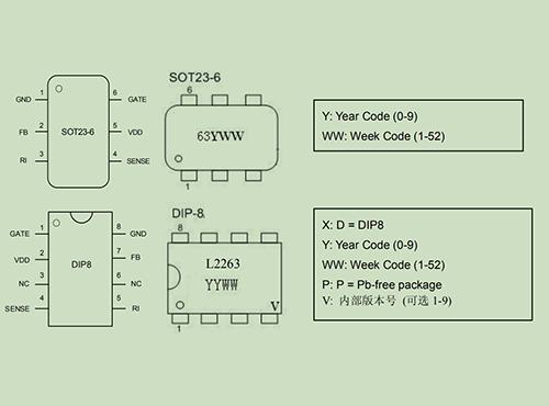 L2263开关电源控制器集成电路
