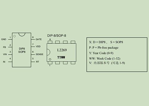 L2269开关电源控制器集成电路