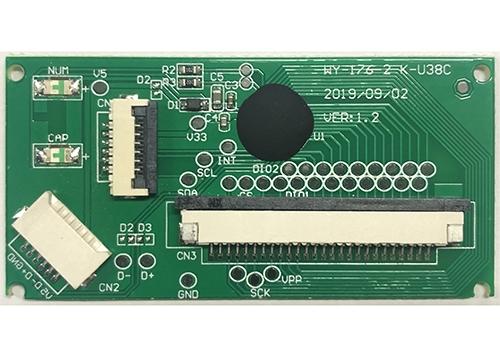 江苏低速USB芯片+触摸板WY-176-2 K-U38C