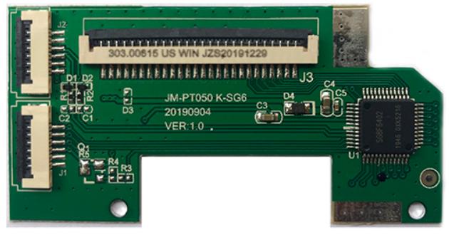 江苏USB芯片 JM-PT050K-SG6配触摸板